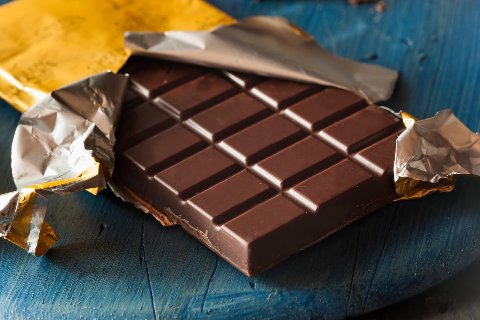 Low Carb Dunkle Schokolade