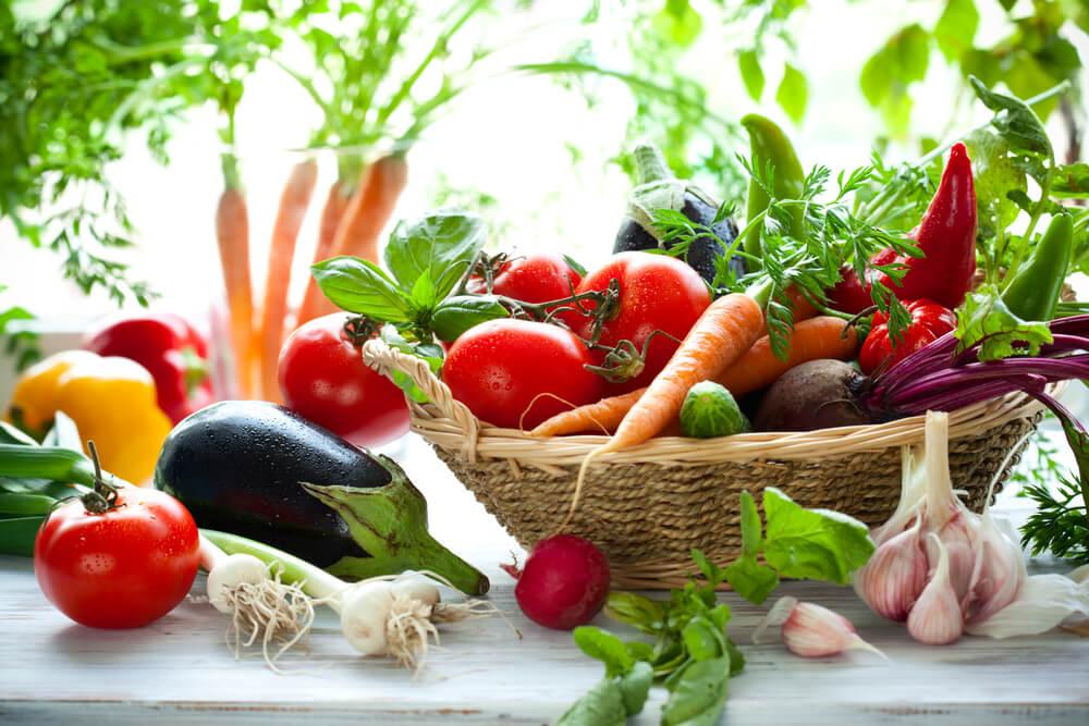 Fasten Rohes Gemüse