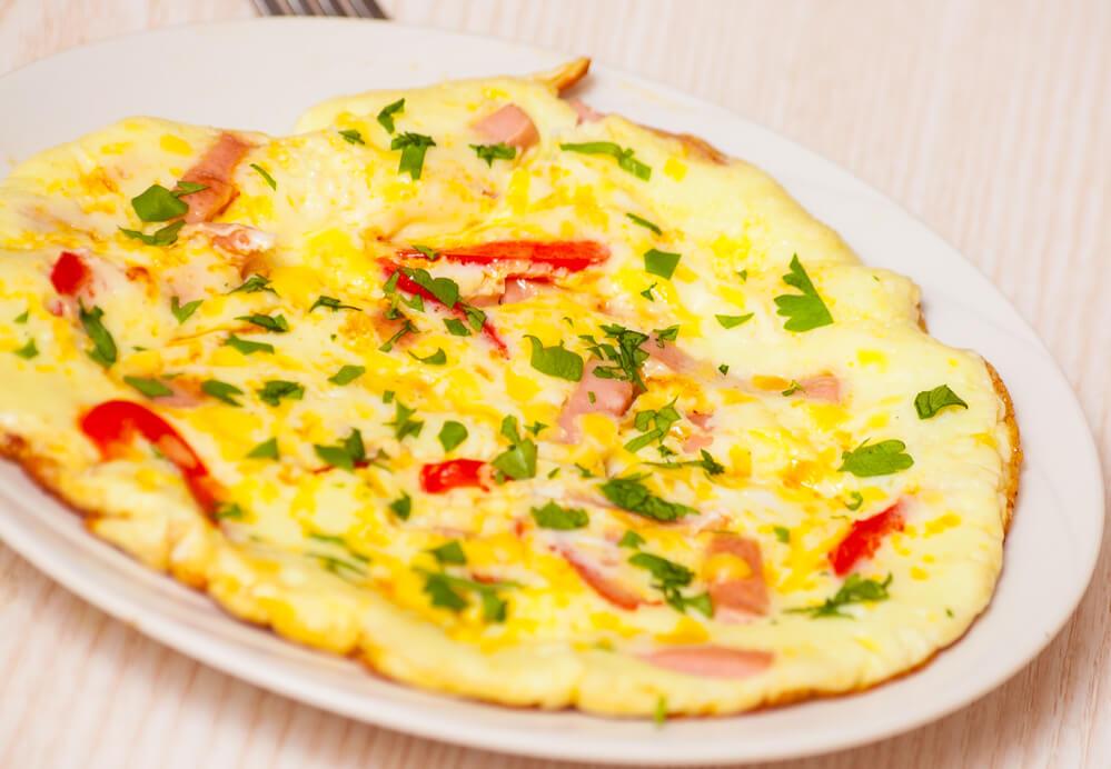 Keto Kaese-Omelette