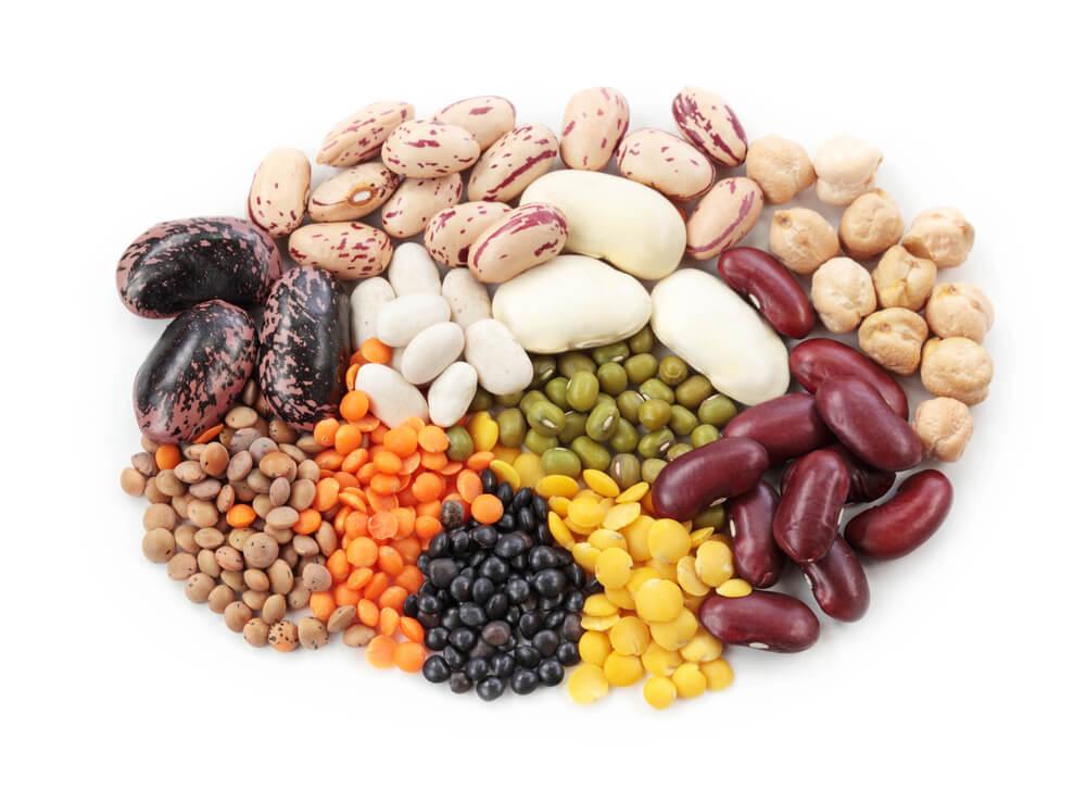 Vegane Lebensmittel Huelsenfruechte
