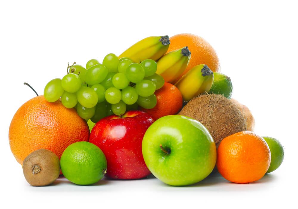 Vegetarische Lebensmittel Obst