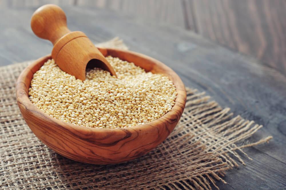 Vegetarische Lebensmittel Pseudo-Getreide
