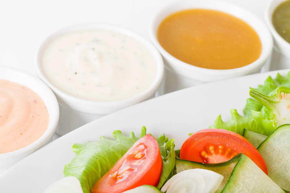 Ketogene Lebensmittel Salatdressing