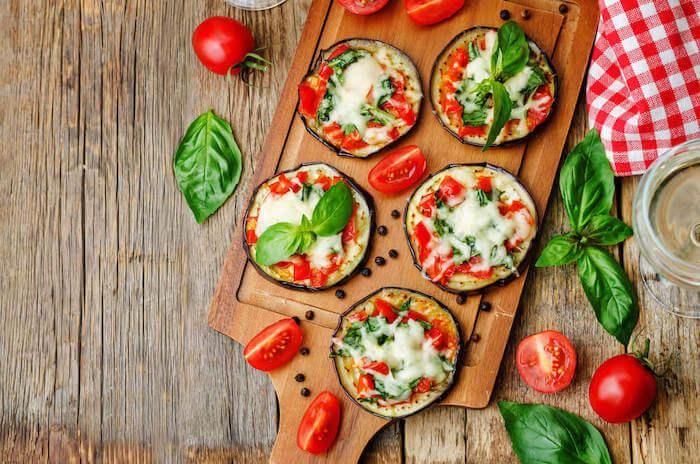 Keto Rezepte_Auberginen-Pizza
